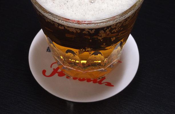 撥水コースタービール