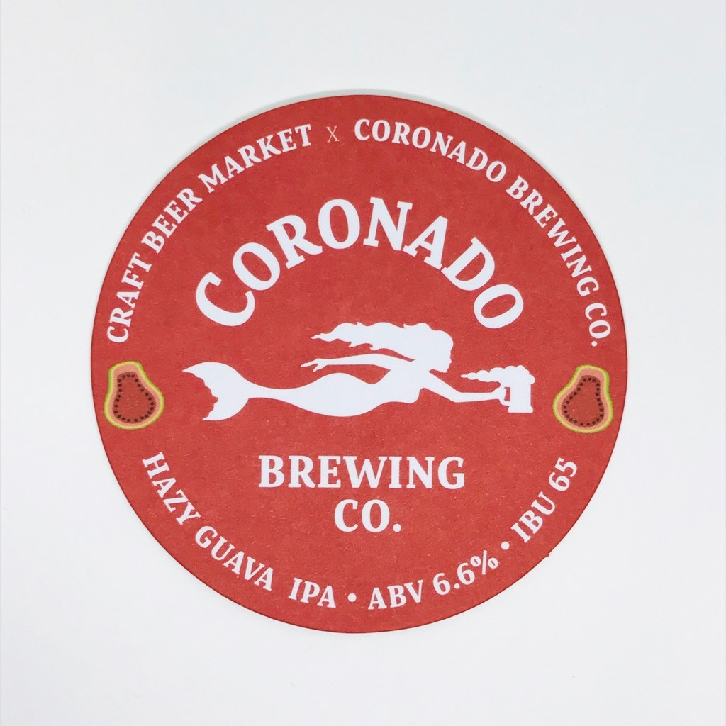 Coronado Brewing Co.様コースター